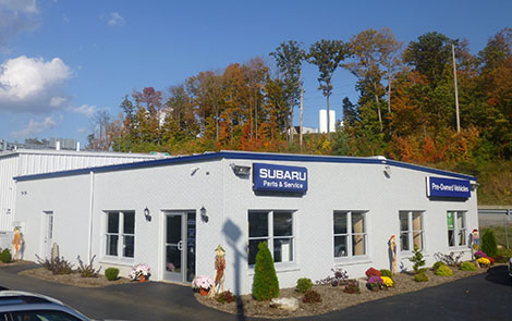 Spangler Subaru Showroom